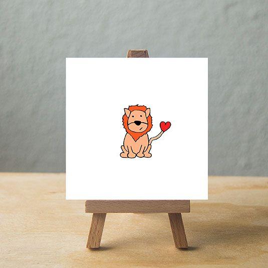 Little lion, hear me roar