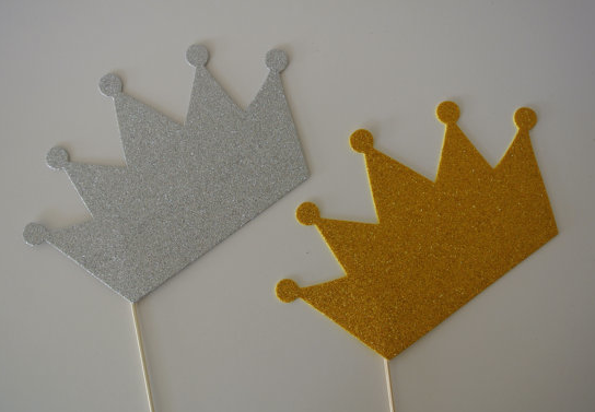 New Year's Eve Hostess Gift: Gold and Sliver Crown Photo ...