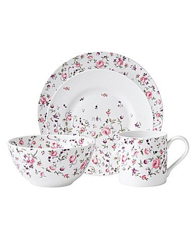 Royal Albert Rose Confetti Modern Casual Dinnerware #Dillards $10.00-$200.00  sc 1 st  Pinterest & Royal Albert Rose Confetti Modern Casual Dinnerware #Dillards $10.00 ...
