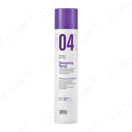 Amos Designing Spray 420ml Hair Spray With Soft Setting Power Enabling Easy Changes In Styling Main Ingredients Aquazol Poymer Target All Hair Spra