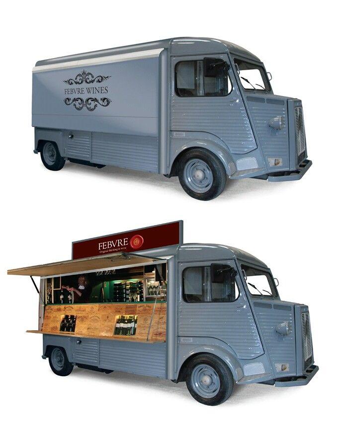Febvre Wines フードトラック フードトラックのデザイン 移動販売
