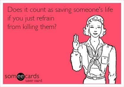 I'm a life saver at least 4 days a week!