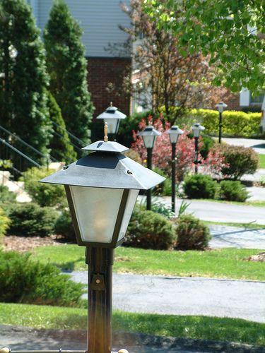 Solar Patio Lanterns Gardens Lights Are Driveway Lighting