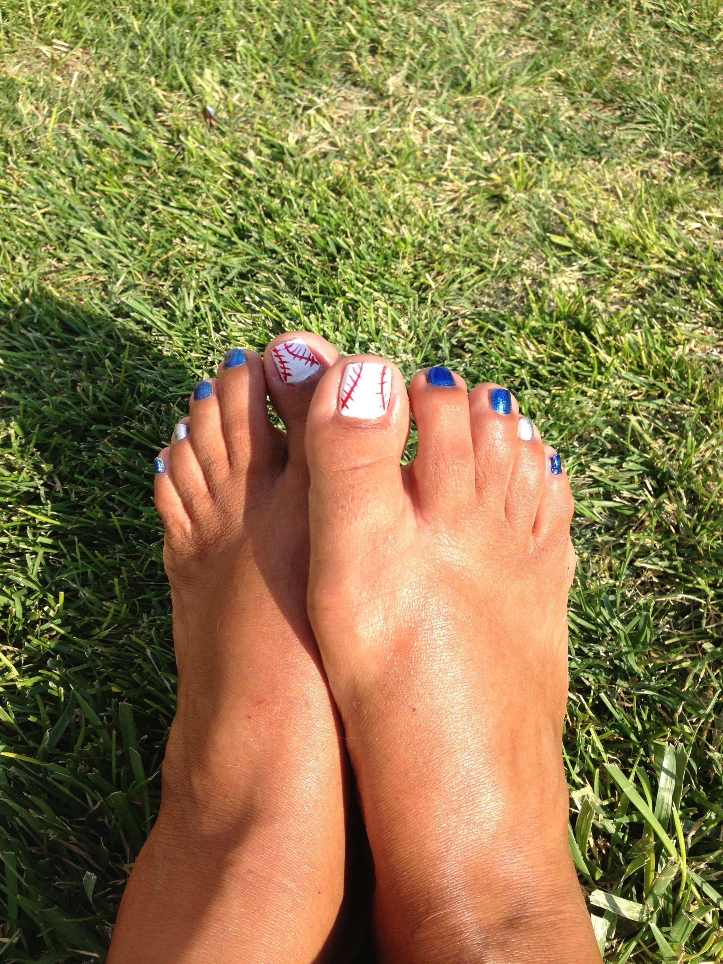 Baseball toes! | My Style | Pinterest
