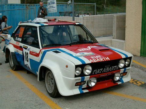 Fiat 131 Livery Fiat Cars Classic Racing Cars Diecast Cars