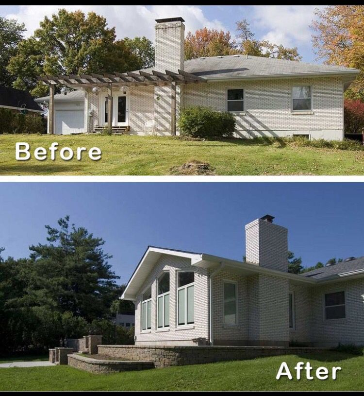 Home Room Addition Ideas: Ranch House Additions, Ranch Remodel