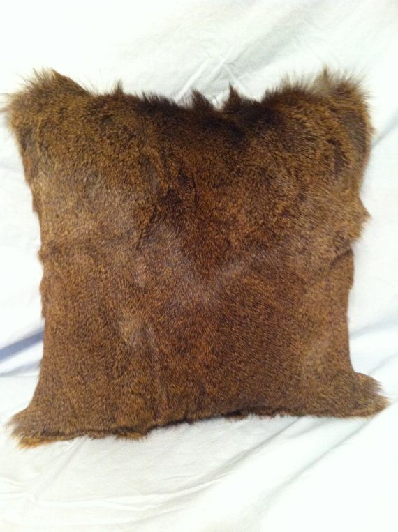 Genuine Whitetail Deer Hide Pillow By Ekfurriers On Etsy 84 99