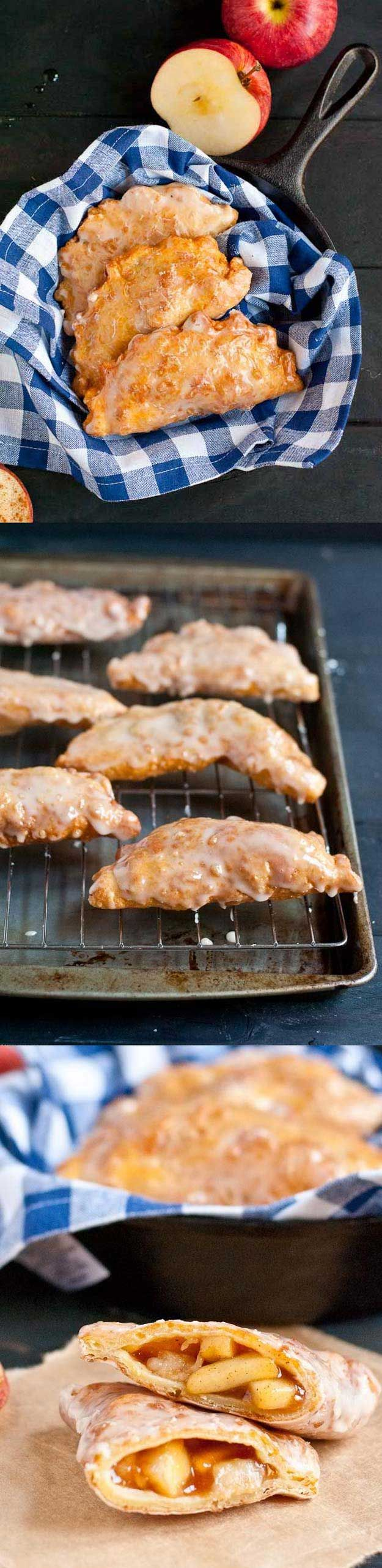 Healthy Desserts To Try Tonight - Amish Apple Fry Pies - Easy And Yummy DIY Heal...