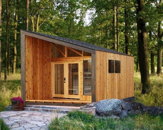 Diseño de casa muy pequeña construida en madera, descubre lo que
