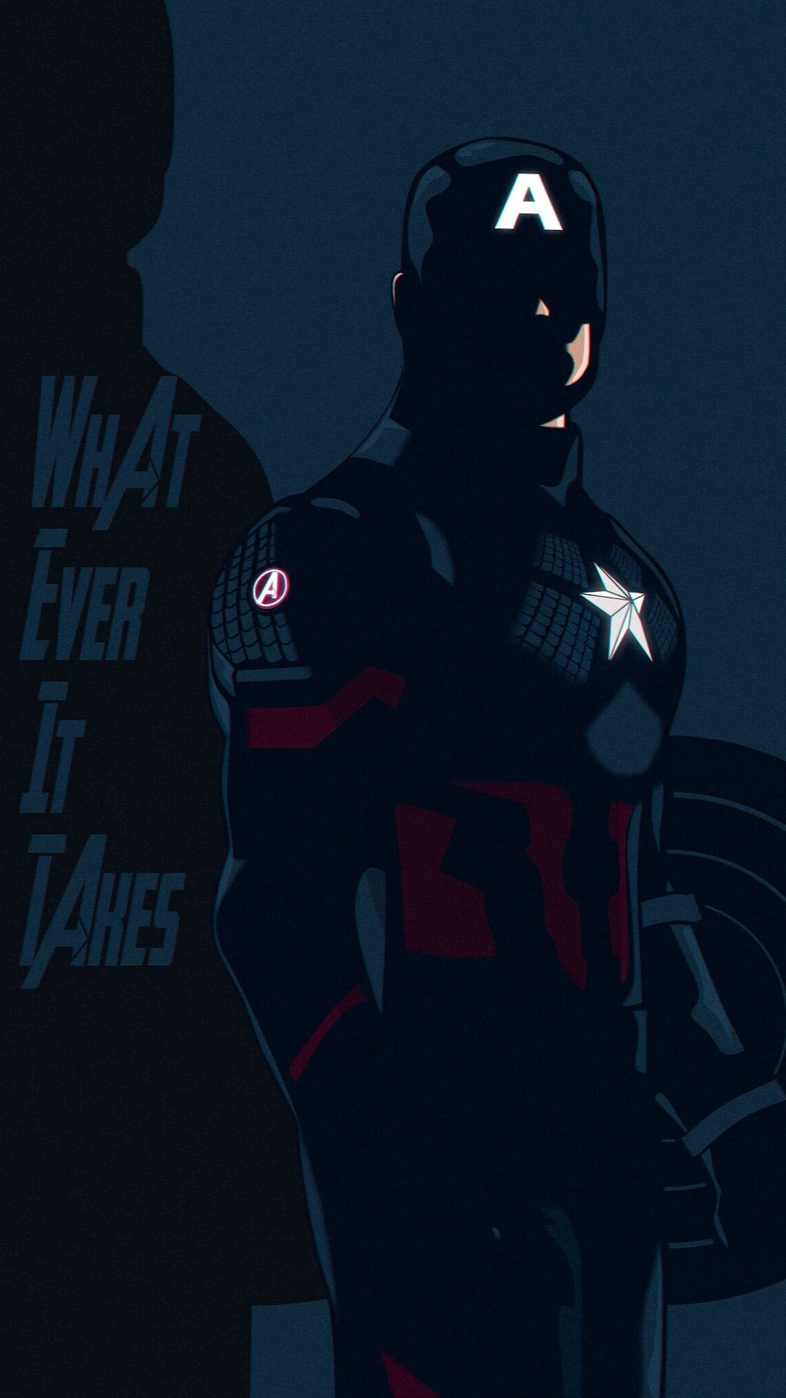Captain America Whatever It Takes IPhone Wallpaper