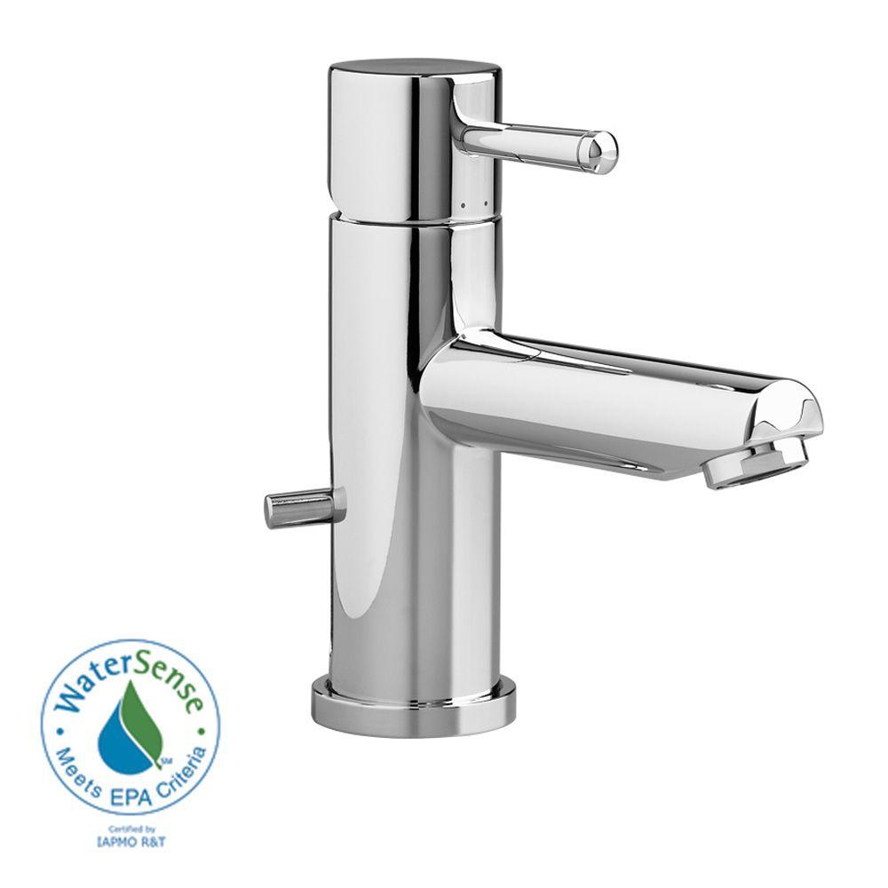 American Standard Serin Monoblock Bathroom Faucet - Polished Chrome ...