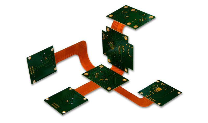 Multilayer Rigid-Flex PCB TOPFAST is a professional and