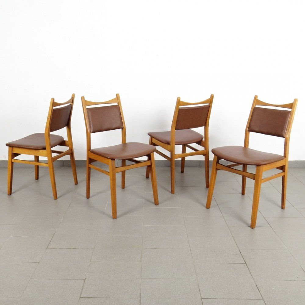 For Sale Set Of 4 Vintage Dining Chairs 1960s Vintage Dining Chairs Dining Chairs Chair
