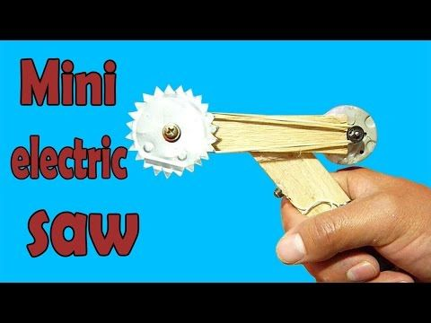 How To Make A Powerful Hand Saw Machine At Home Youtube Electric Saw Mini Electricity