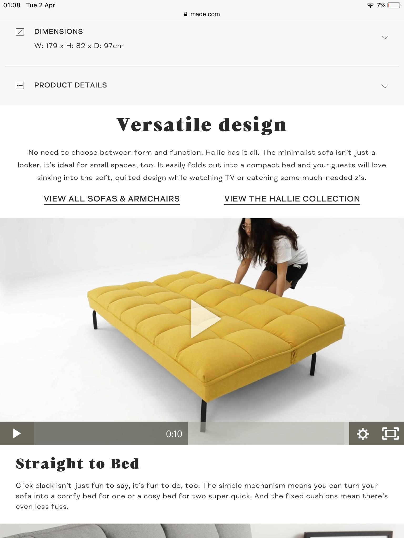 Pin by Gray on Attic Minimalist sofa, Small spaces, Design