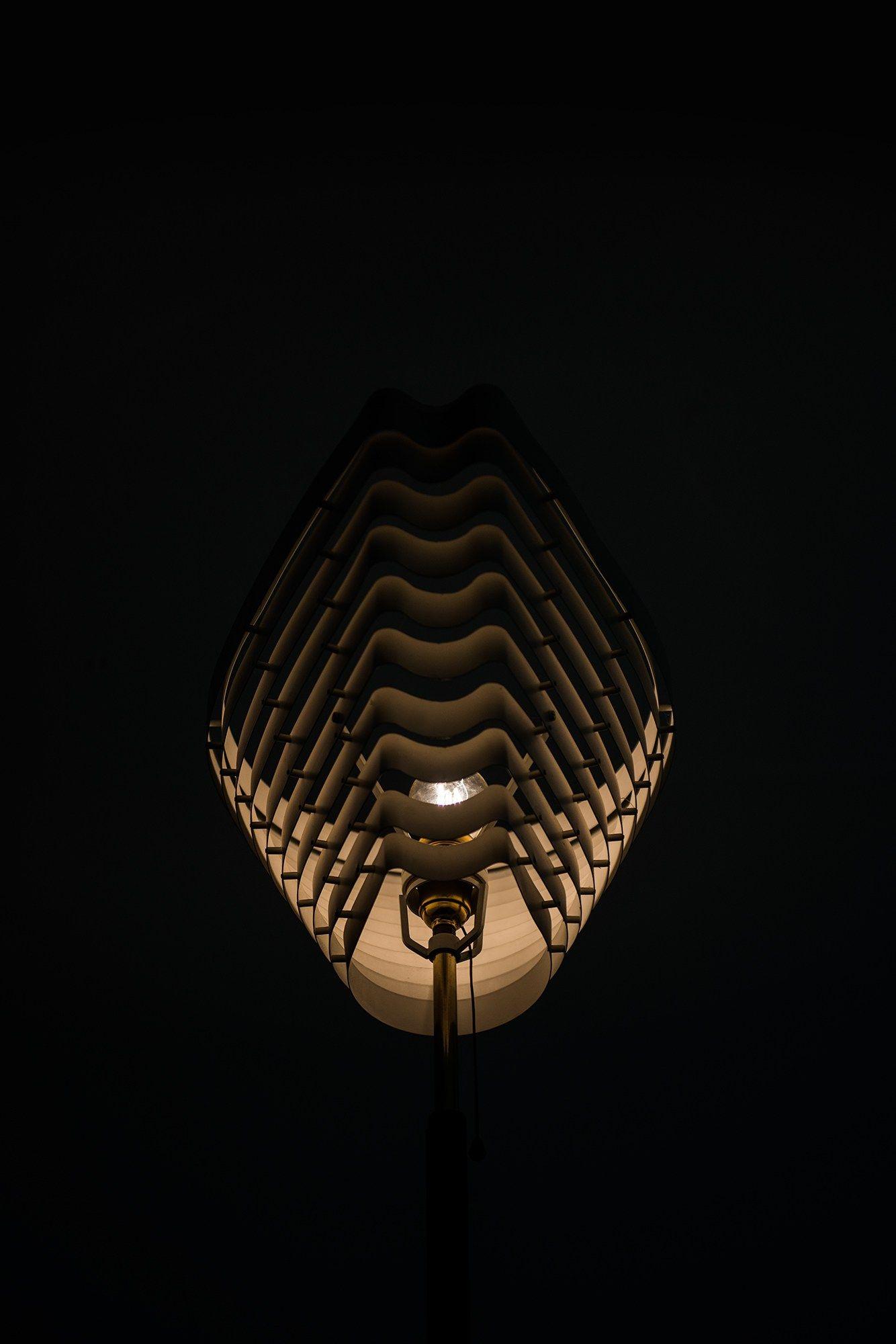 Alvar Aalto Floor Lamp By Valaistusty At Studio Schalling