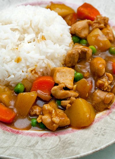 how to prepare chicken for japanese curry