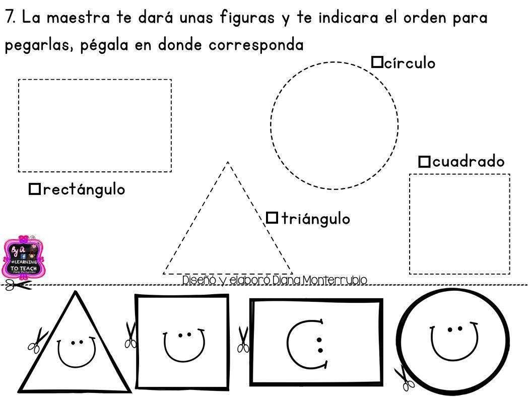 Fichas Examen Dificultad Baja Infantil Y Preescolar