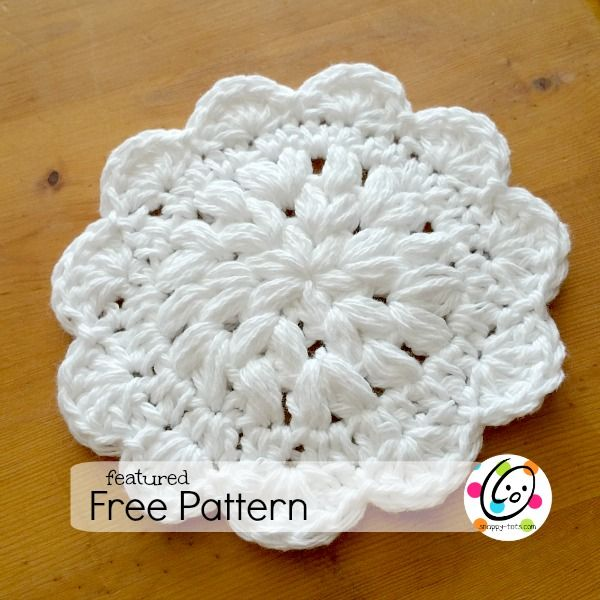 Featured Free Pattern: Shelley\'s Favorite Dishcloth | Free crochet ...