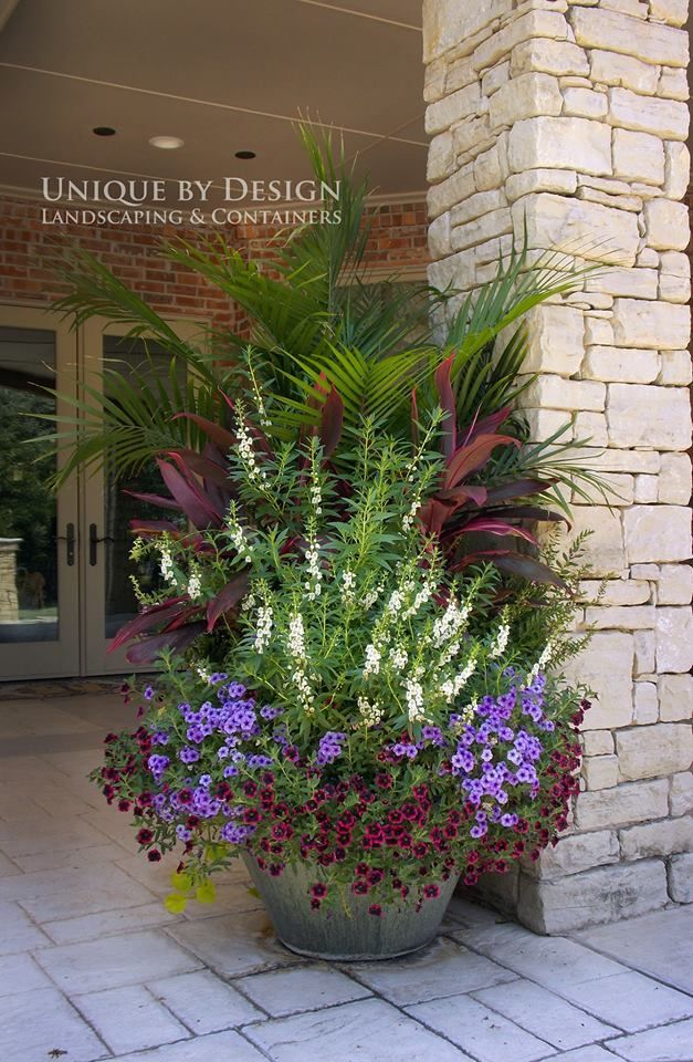Unique By Design Landscaping Containers Outdoor Plants Flowers Potted Large