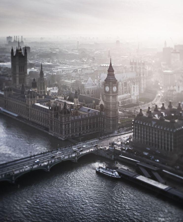 Big Ben, London winter land / photo by Alisdair Miller