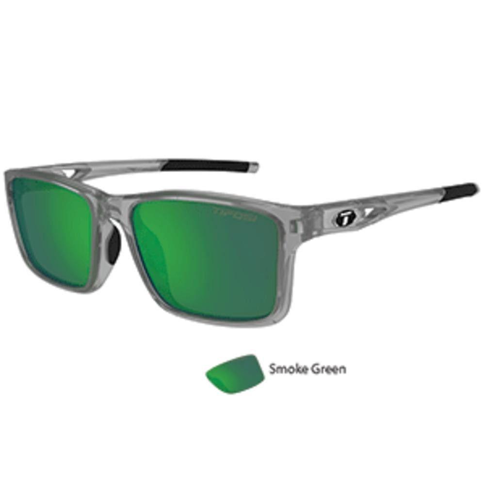 Tifosi Marzen Crystal Smoke Swivelink Sunglasses - Smoke Green