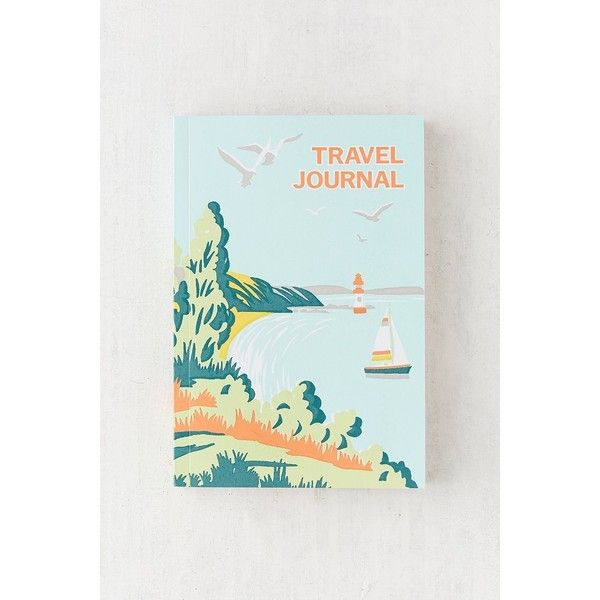 Sukie Coastal Getaway Travel Journal ($17) ❤ liked on Polyvore featuring home, home decor and stationery