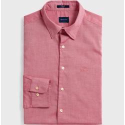 Gant Figurbetontes Tech Prep™ Oxford Hemd (Rot) Gant