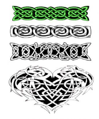 Celtic Tattoo Flash Armband Celtic Knot Armbands Tattoo