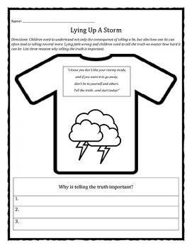 English worksheets: Truth or lie