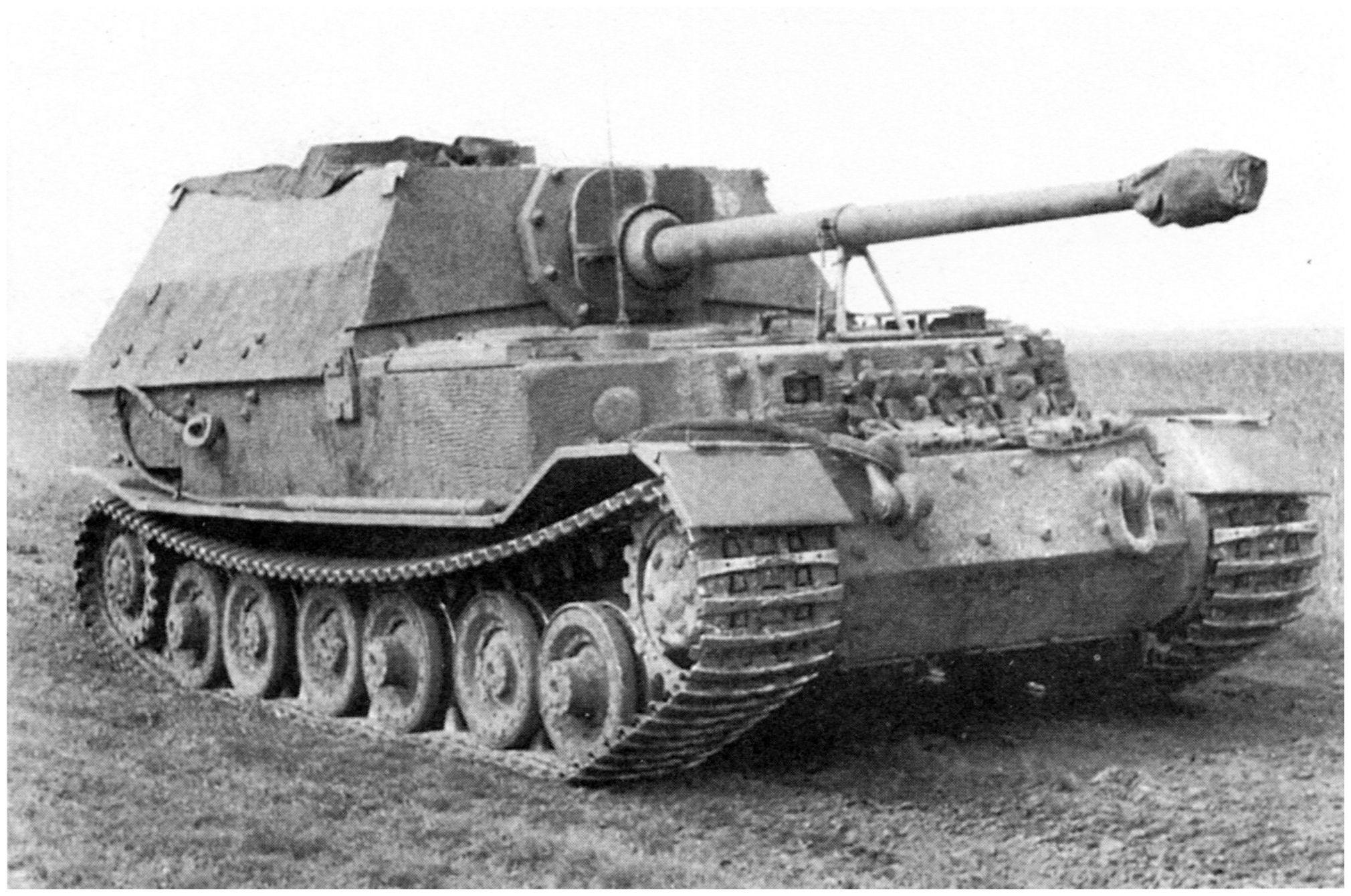 German Ferdinand Tank Destroyer Panzer Tank Destroyer
