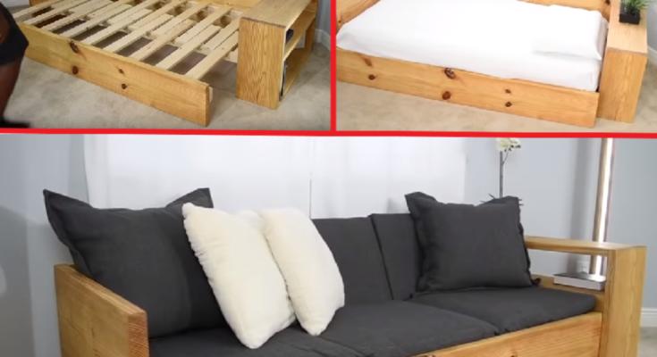 Cómo Hacer Un Sofá Cama De Madera De Madera Cama De Madera Como Hacer Un Sofa Camas