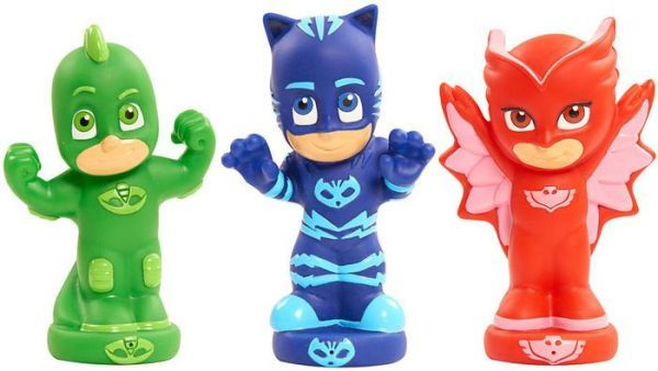 22fea50413 PJ Masks Bath Squirters | Products | Bath toys, Pj mask, Mask party