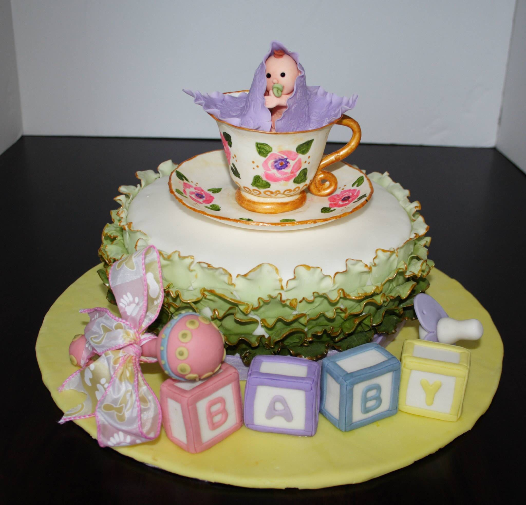 vons bakery baby shower cakes