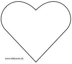 Vorlage Herzen Herz Vorlage Herzschablone Herz Ausmalbild