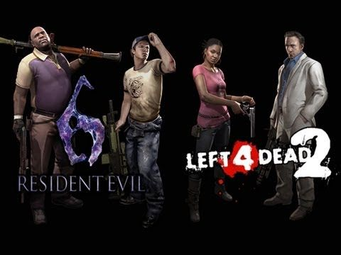 Resident Evil 6 X Left 4 Dead 2 Free Character Crossover Dlc For