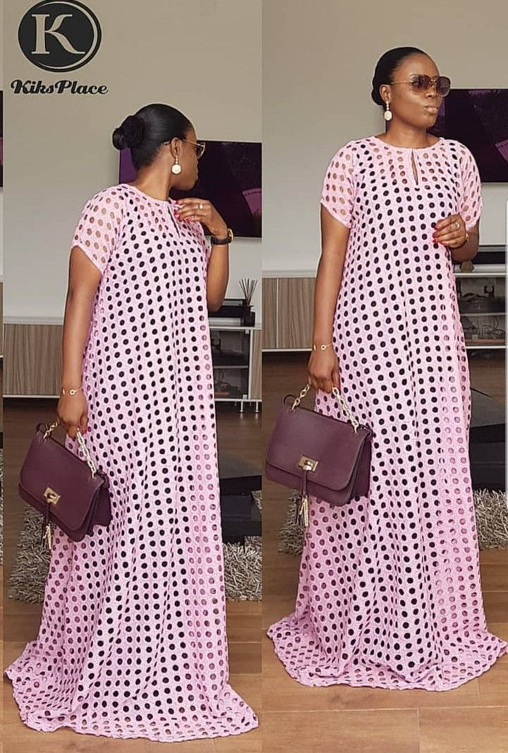 5837576b4562b5 floor length bubu | Kaftan styles in 2019 | African fashion dresses,  African dress, African fashion