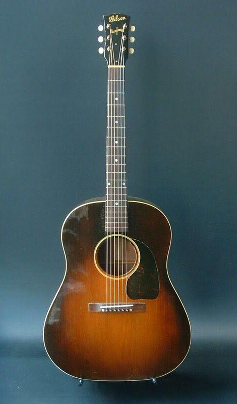 Vintage 1945 Gibson J 45 Acoustic Guitar Acoustic Guitar Best Acoustic Guitar Guitar