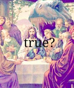 Jesus didn't ride a dinosaur - St. Paul's Episcopal Church