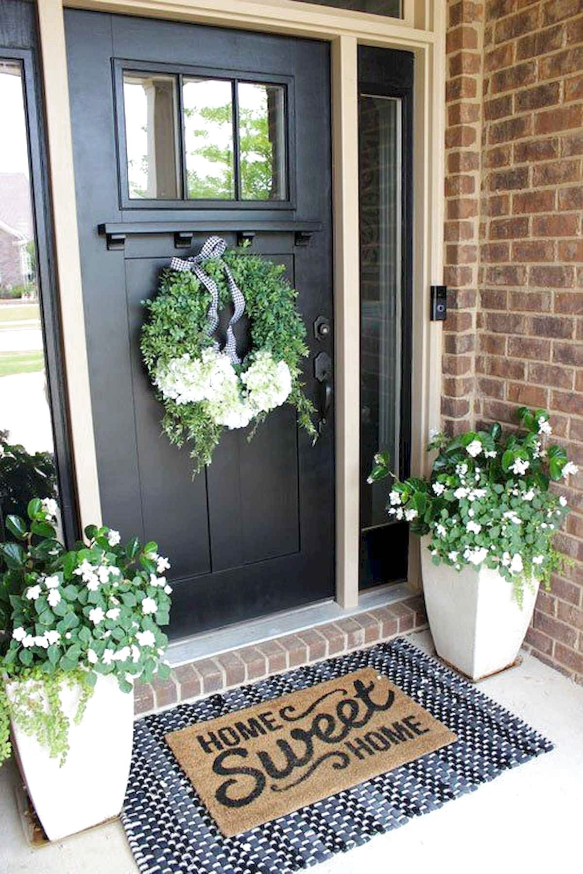 48 farmhouse porch design decor ideas spring porch decor