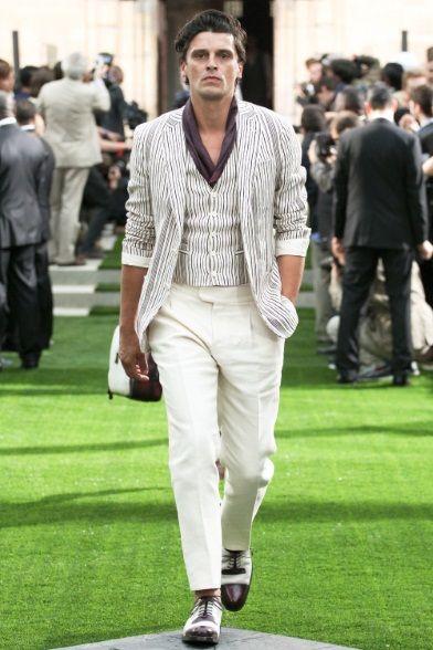 Sfilata Berluti Milano Moda Uomo Primavera Estate 2014 - Vogue
