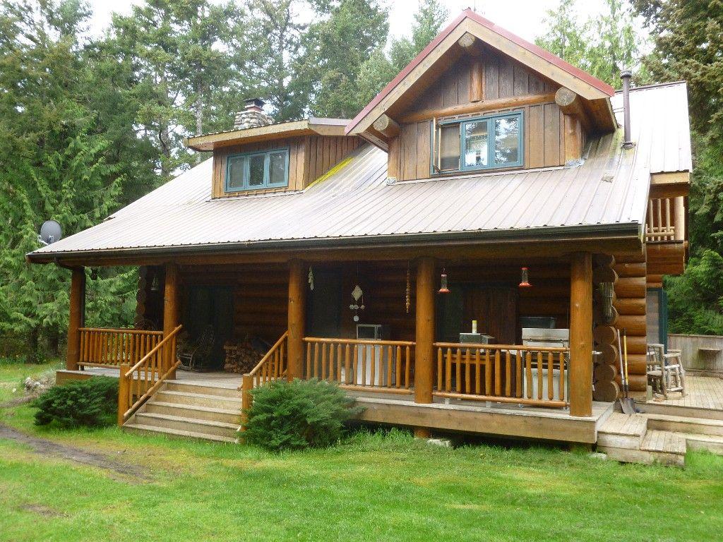 Lopez Island Cabin Rental Cedar Ridge Lopez Island Custom Log Home Retreat Homeaway Maison Ossature Bois