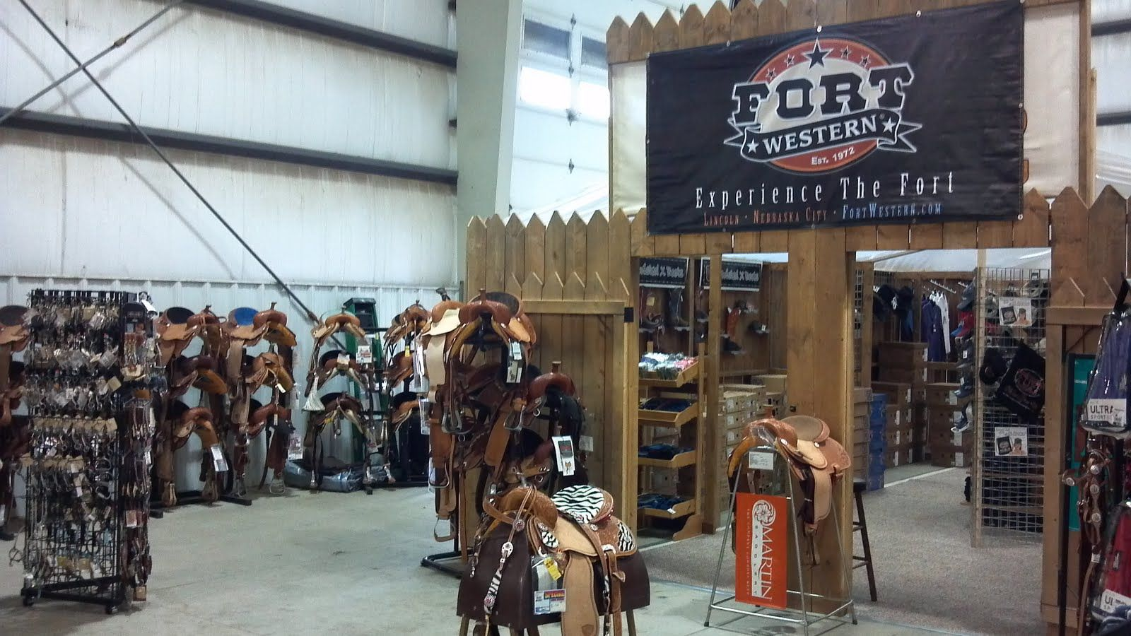 Come See The Fort Stockade Western Wear Booth at the WRPA