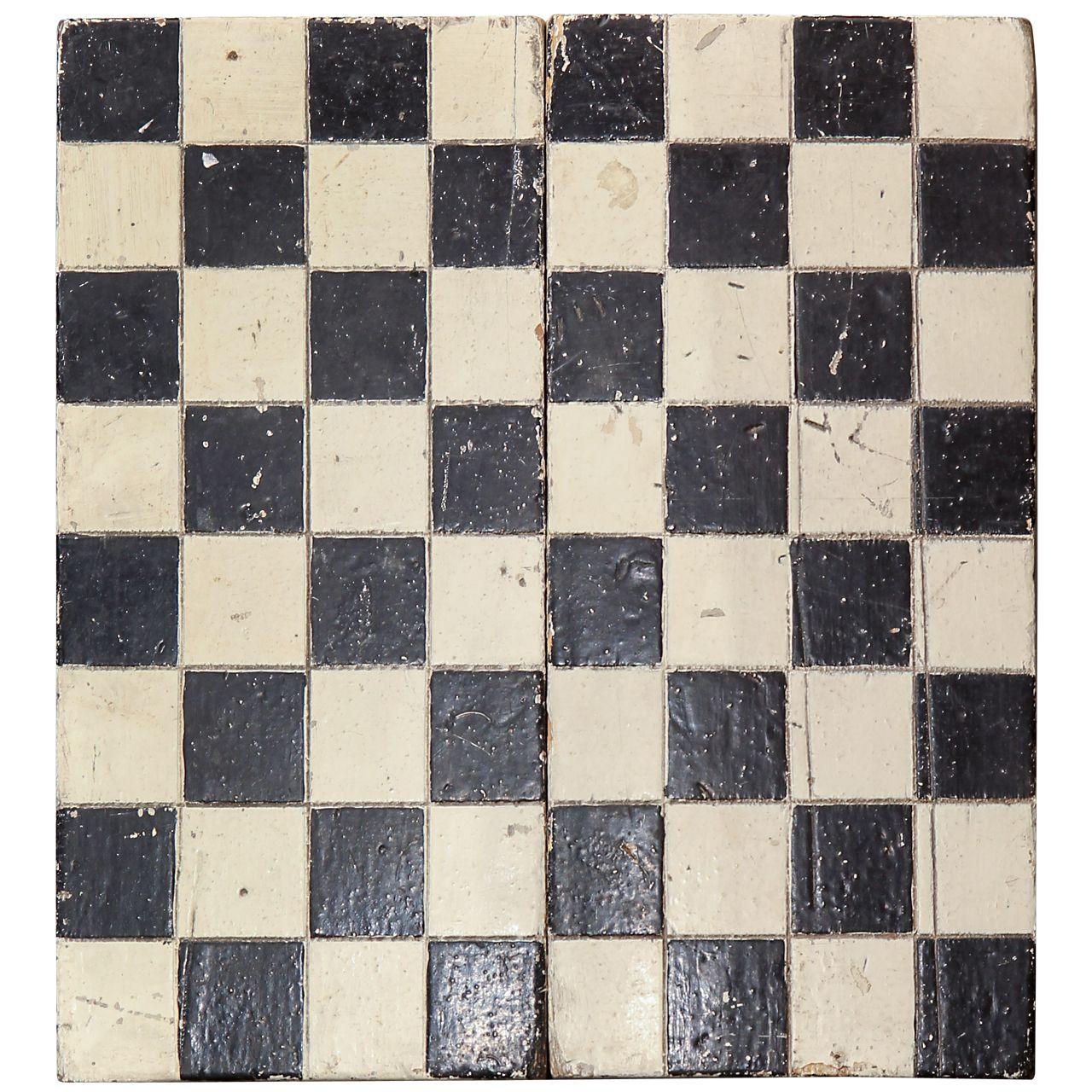 1stdibs | folk art checkerboard