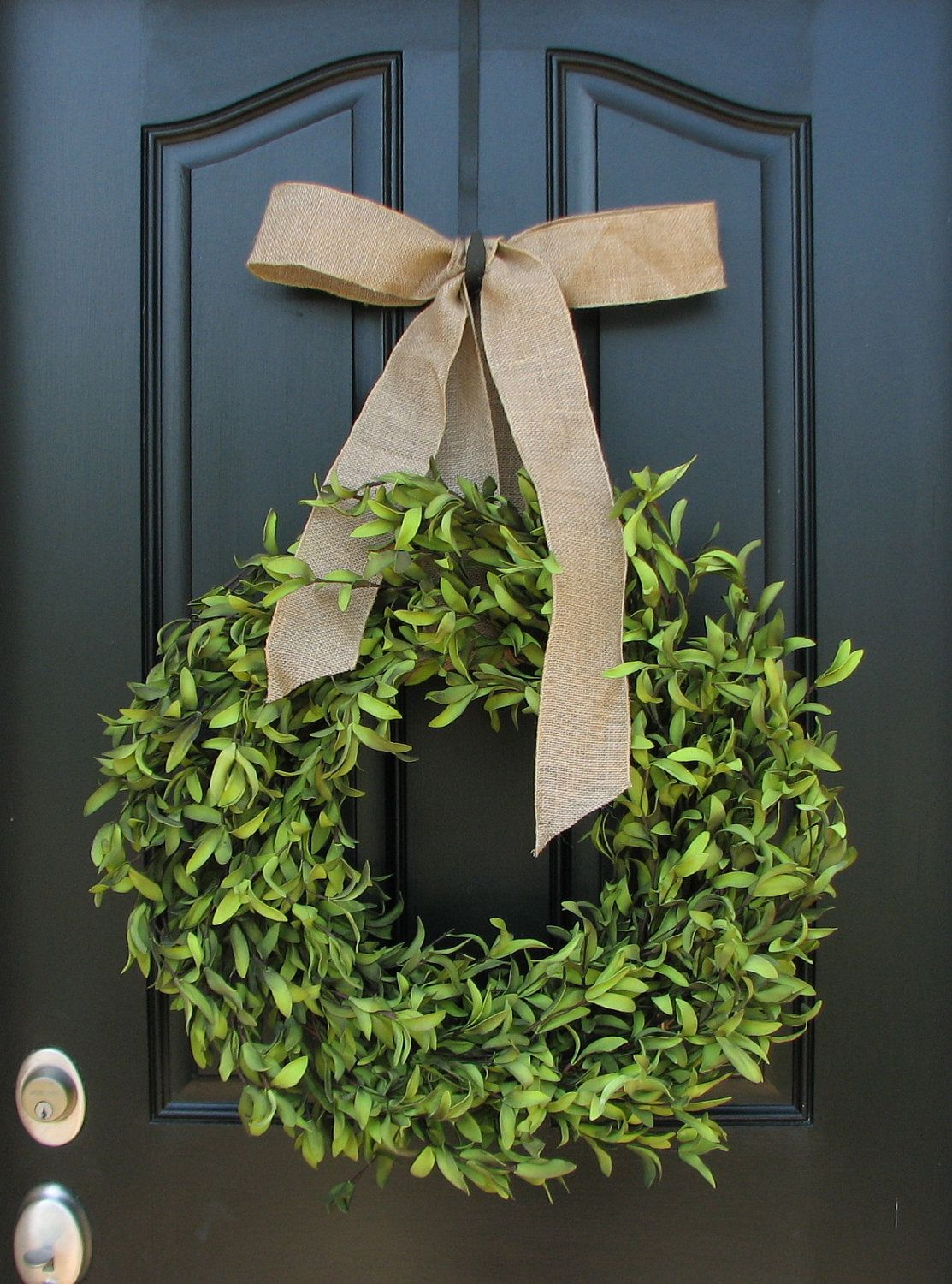 Boxwood Wreath Wreaths Pinterest Wreaths Front Doors And Holidays