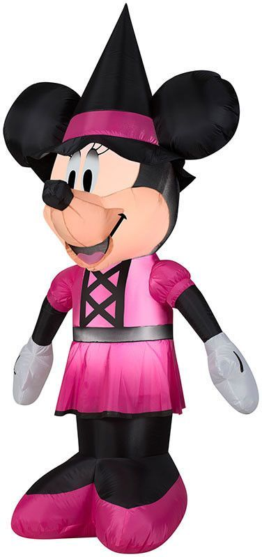 0911ed4dd3c 5  Airblown Minnie as Witch Disney Halloween Inflatable