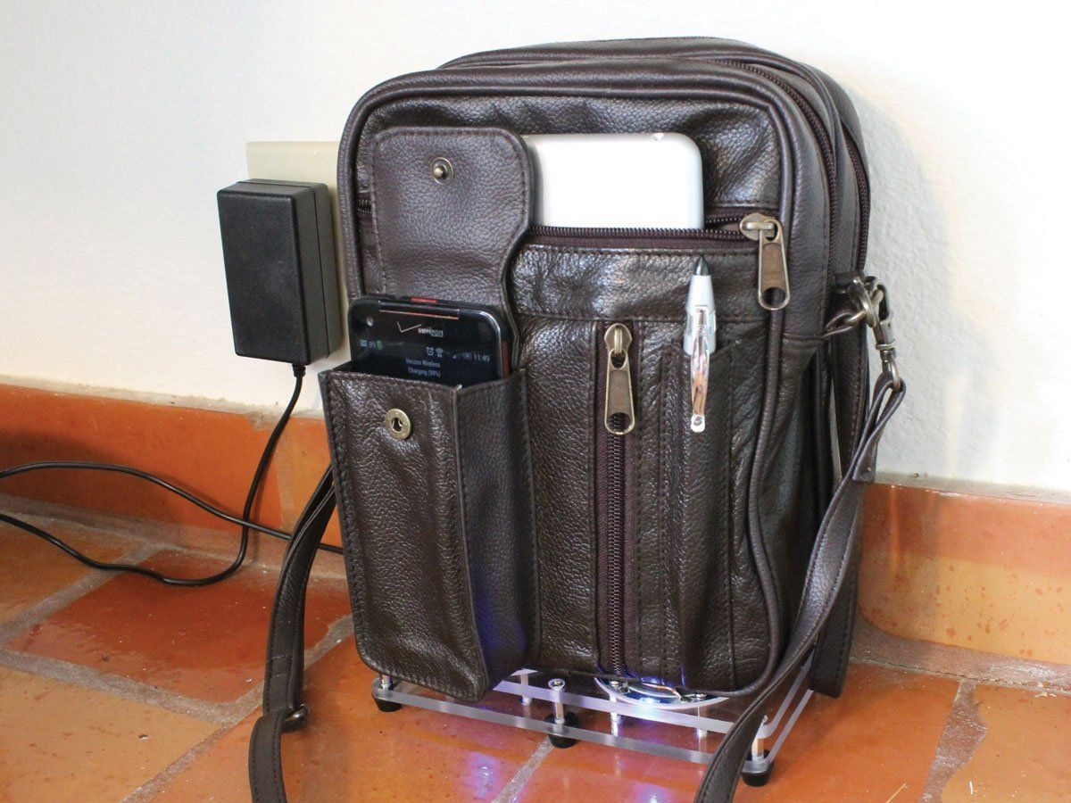 How To Make An Inductive Charging Bag | Inductive charging ...