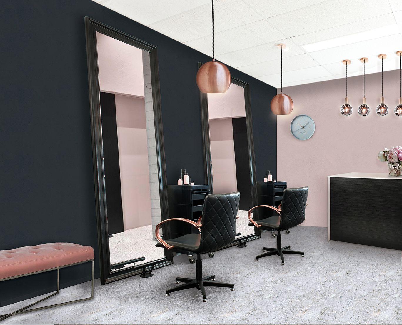 Comfortel Metallic Blush Salon Collection Salon Design With Rose