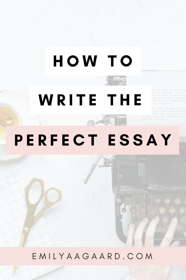 Essay Writing for School/University • How to Write an Essay