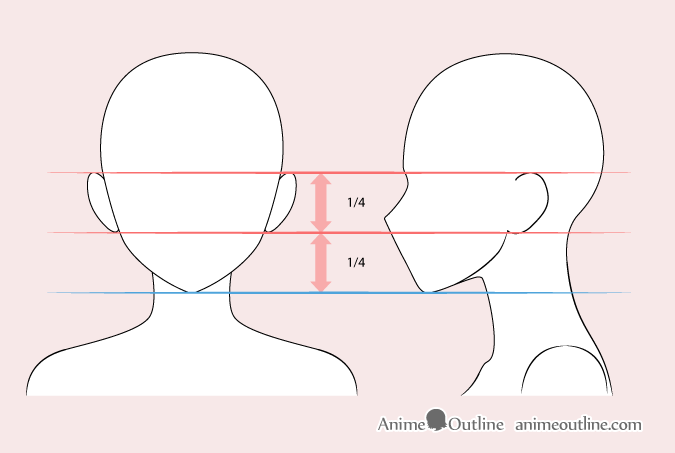 Anime Woman Ears Drawing Drawing Tutorial Face Drawing Tutorial Female Face Drawing